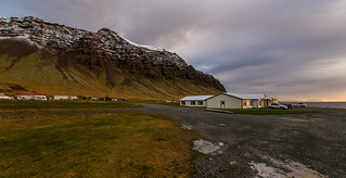 Iceland: Hali Country Hotel just after dawn