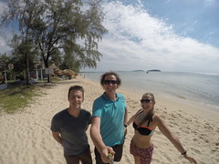 Photo de 14h - Avec Fanch à Otres Beach (Sihanoukville - Cambodge) - 20.12.2014