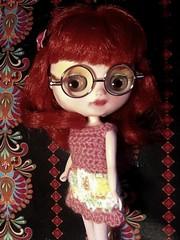 Blythe-a-Day November#13: Something New: Annie's Glasses