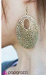5th Avenue Brass Earrings K2 P5031-5