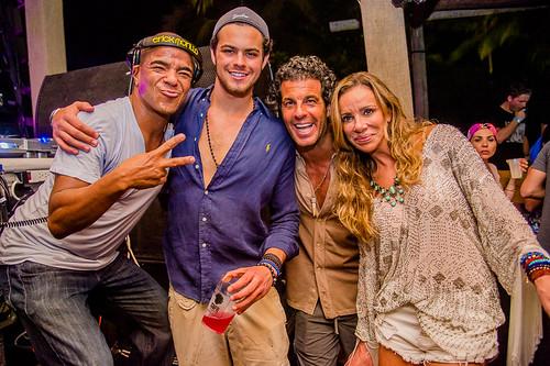 DJ Erick Morillo, Alvarinho , Alvaro Garnero e Cris Arcangeli