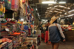 Shoppingtour in Siem Reap.