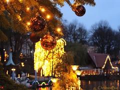 Danish Christmas Time Begins... (ChristianeBue) Tags: christmas copenhagen weihnachten denmark tivoli jul kopenhagen københavn