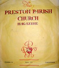 Preston Parish Church Magazine (Tony Worrall Foto) Tags: old church parish magazine ads paper words remember read preston booklet past mag relic adverts prestonhistory prestonparishchurchmagazine 2015tonyworrall