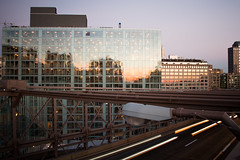 2014-11 New York City (824) (roolmapool) Tags: new york city bridge sunset cars brooklyn canon buildings soleil manhattan coucher pont voitures immeubles 70d