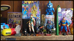 Toy Diversity Shelf (Solitude is preferred) Tags: toys aliens batman akira motu cammy theshocker hordak tetsujin28 guyver streetfighter2 toyshelf toycollecting playartskai