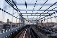 Japan: Tokio Speed (Arnau P) Tags: bridge train movement metro odaiba tokio
