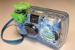 Fujifilm Water Proof QuickSnap (bac1967) Tags: film water fuji under iso fujifilm proof asa 27 800 waterproof quicksnap exposures submersible