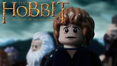 The Hobbit 3 Trailer - IN LEGO! (Legostudio01) Tags: lego final trailer hobbit remake teaser bilbo dwarves onelasttime