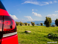 Corme-5 (Gon Cancela) Tags: car vw golf volkswagen faro paisaje led galicia coche bbs mirador tsi corme roncudo mkvi merendero mk6 ponteceso