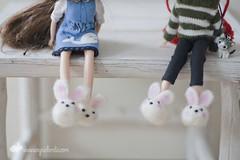 Zapatillas conejiles
