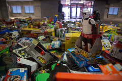 Toys for Tots sorting in North Charleston (North Charleston) Tags: christmas storm trooper starwars stormtrooper northcharleston toysfortoys theforceawakens