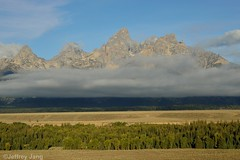 Tetons at Sunrise. Grand Teton National Park (Jeffrey Jang Photography) Tags: usa mountains nature sunrise landscape us unitedstatesofamerica jeffrey wyoming tetons jang grandtetonnationalpark jeffreyjangphotography l040102013