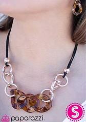 5th Avenue Brown Necklace K1A P2310A-1.