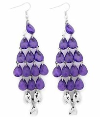 Glimpse of Malibu Purple Earrings P5410-2
