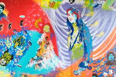 Charlotte Gainsbourg (Caroline Vincelet) Tags: streetart france grenoble isère rhônealpes