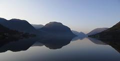 All calm (CNorthExplores) Tags: travel lake reflection norway calm clear skei sognogfjordane jølster jølstravatnet