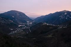 Panorama marchigiano (rafpas82) Tags: italy panorama italia case borgo marche fabriano pomeriggio borghi frasassi genga svittore cerqueto 18200nikon pierosara paesaggiomontano d7000 gennaio2015