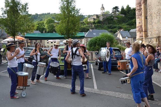 5 août 2014 : La Batucada de St Geniez