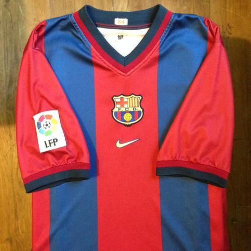 8696a12ca32 1998-1999 FC Barcelona Home Jersey