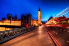 Passing Big Ben (Jim Nix / Nomadic Pursuits) Tags: uk travel england london westminster twilight nikon europe parliament bigben landmark hdr nomadicpursuits