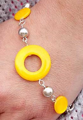 Sunset Sighting Yellow Bracelet K2 P9441-5