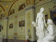 Hermitage State Museum (leonyaakov) Tags: travel art museum architecture stpetersburg nude russia paintings palace exhibition hermitage   glasspainting