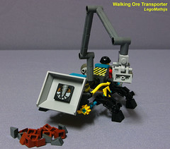 03_ore_tipper (LegoMathijs) Tags: 2 rock energy tipper lego crystal space scifi concept slope raiders miners moc ores legomathijs