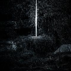 shaft (allport.colin) Tags: light texture wet water wales moss hills slate quarry shaft