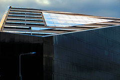 Mann Island, Liverpool (stephenbryan825) Tags: reflection glass contrast liverpool buildings graphic roofs selects mannisland