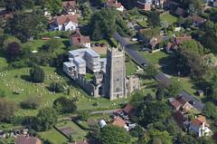 Church of Saint Andrew in Warberswick - Suffolk aerial (John D F) Tags: church suffolk aerial aer aerialphotography aerialphotograph aerialimage warberswick aerialpic britainfromtheair aerialimagesuk