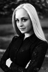 Ada (Zakapi0r) Tags: uk portrait blackandwhite bw woman white black girl canon garden manchester eos 50mm blackwhite spring model unitedkingdom bokeh britain 5 great naturallight blonde mk2 5d stm f18 mkii 1850 markii middleton mark2 5018 nostrobist