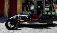 For the next Marvel movie: the 3-wheel shark car! (Cloudwhisperer67) Tags: life street travel urban paris france car wheel canon shark three amazing europa europe lol great wheeler morgan marvel cloudwhisperer67 760d