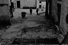 DSC_0087[1] (Daniela Ceddia) Tags: street city travel sky italy panorama woman skyline landscape town donna italia cielo viaggio puglia bnw paesaggio biancoenero citta