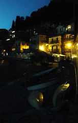 Varenna - Nightlights  - Lake Como Italy (Gilli8888) Tags: light italy lake night boats twilight dusk restaurants lakeside nightlight lakecomo lombardia varenna lombardy