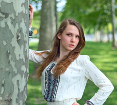 Under the Trees (oshcan) Tags: portrait woman model nikon philly d4s