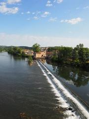 Weir (JP Newell) Tags: bridge river canal lock cahors midipyrnesregion