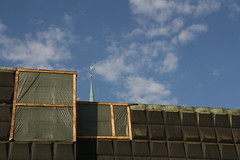 Okkupationsmuseum (im_fluss) Tags: sky museum town himmel wolken churchtower latvia roofs stadt riga lettland dcher livland