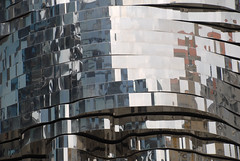 Franz Kafkas head, Prague (scuba_dooba) Tags: sculpture david statue metal europe republic mechanical czech prague head steel eu praha franz spinning czechrepublic kafka turning stainless revolving rotate motorised revolve ern