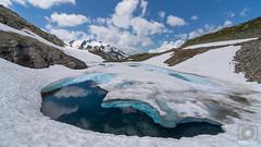 Eisstruktur (MD-Pic) Tags: eis ice schnee snow landschaft landscape sommer berge alpen alps schweiz swiss switzerland see lake d7100 nikon sustenpass