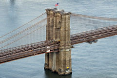 Brooklyn Bridge Close-Up (Tony Shi Photos) Tags: bb brooklynbridge landmark internationallandmark famouslandmark famousplace nyc newyorkcity 70pine eastriver bridge manhattan ny architecture            nowyjork novayork