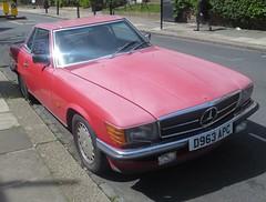 1987 Mercedes 500 SL auto (Al Walter) Tags: mercedesbenz mercedessl r107 d963apc