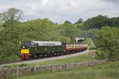 D213 Andania (MitchellTurnbull) Tags: june photography nikon diesel yorkshire north rail railway class moors locomotive 40 gala 19th nymr 2016 d3200 darnholm d213 andania