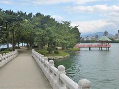 Jp16-Fukuoka-Lac-Parc Ohori (1) (jbeaulieu) Tags: japon fukuoka parc ohori lac