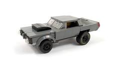 1968 Plymouth Hemi Barracuda Super Stock (timhenderson73) Tags: lego custom moc 1968 plymouth barracuda hemi super stock drag race muscle car