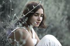 Daydreamer (Kenny Laurence) Tags: sunlight white green nature girl model nikon natural teal f14 85mm daydreamer daydreaming samyang rokinon