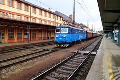 123 004 -4 Ceska Trebova 15 Jun 16 (doughnut14) Tags: electric czech rail loco freight skoda ceska ceskedrahy cdcargo 1230044 zeleznicne