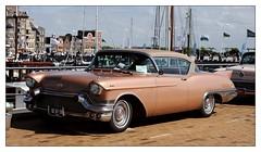 1957 - Cadillac Eldorado Seville (Ruud Onos) Tags: 1957 cadillac eldorado seville dz0758 1957cadillaceldoradoseville cadillaceldoradoseville nationale oldtimerdag lelystad nationaleoldtimerdaglelystad ruudonos oldtimerdaglelystad havhistorischeautomobielverenigingnederland