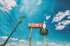 Bowling for Shreveport (Thomas Hawk) Tags: 32lanes america caddo caddoparish louisiana shreveport southgatebowlinglanes usa unitedstates unitedstatesofamerica bowling bowlingalley neon fav10 fav25 fav50 fav100