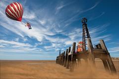 Flight-of-Fancy (Sheila Haycox Photography) Tags: creative balloon pier muppets